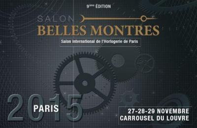 Salon Belles Montres 2015 au Carrousel du Louvre