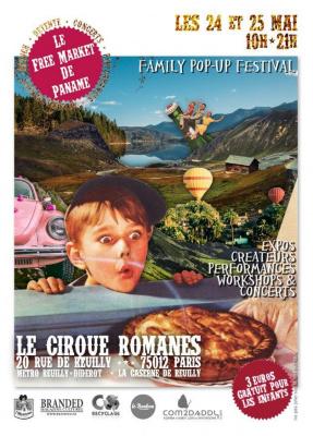 Le Free Market de Paname au Cirque Romanès