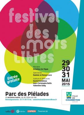 Festival des mots libres de Courbevoie 2015