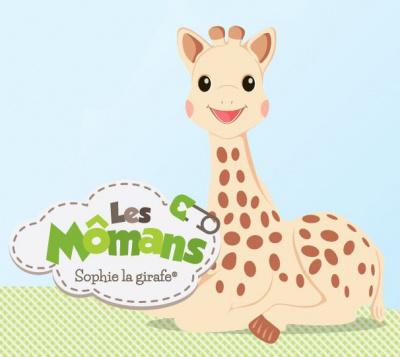 Les Momans Sophie la girafe, le Pop up Sophie la Girafe
