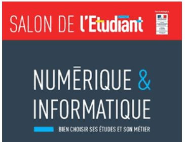 Salon de l 39 etudiant num rique et informatique 2018 for Salon informatique paris