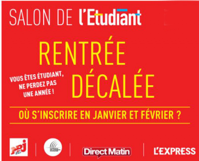 Salon de la rentr e d cal e 2017 for Salon de l orientation paris 2017