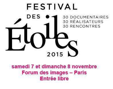 Le festival des Etoiles de la SCAM 2015 au Forum des Images