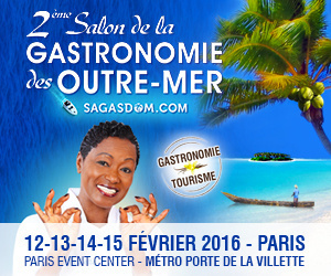 Salon de la gastronomie des outre mer 2016 for Salon porte de la villette