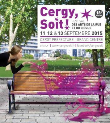 Cergy, Soit!, Festival des arts de la rue et du cirque 2015