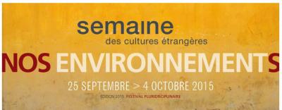 Semaine des Cultures Etrangères 2015