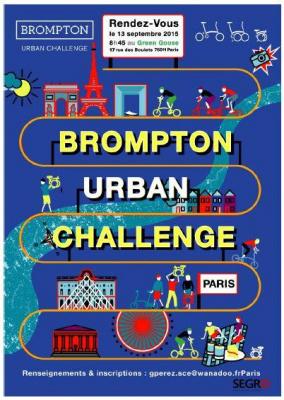 Brompton Urban Challenge 2015