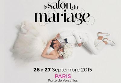 Le salon du mariage 2015 la porte de versailles for Porte de versailles salon mariage