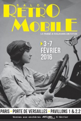 Salon r tromobile 2016 la porte de versailles for Salon versailles 2016