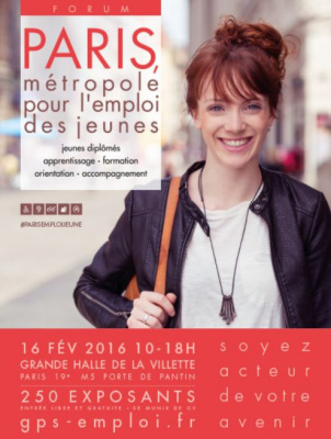 Paris Métropole pour l'emploi des jeunes 2016