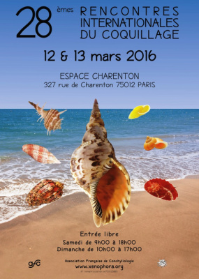 Les Rencontres Internationales du Coquillage 2016 à l'Espace Charenton