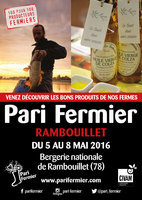 Pari Fermier de printemps 2016 à la Bergerie Nationale de Rambouillet