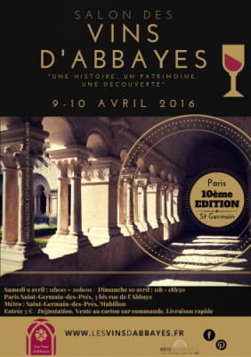 Le Salon des Vins d'Abbayes 2016 au Palais Abbatial de Saint-Germain