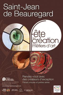 Fête de la Création et des Métiers d'Art 2016 au Château de Saint-Jean de Beauregard