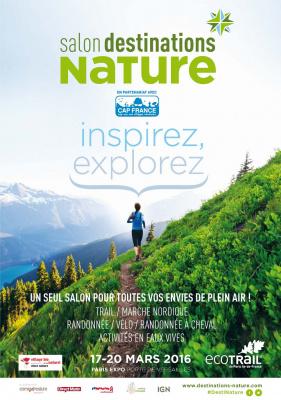 Le salon des nouvelles randonnées : Destinations Nature 2016 - invitations gratuites