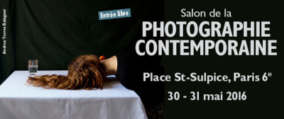 Le Salon de la Photographie Contemporaine 2016 Place Saint Sulpice