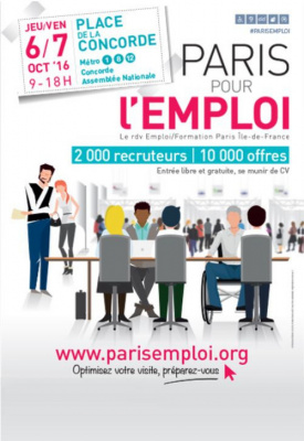 Paris pour l'emploi 2016, Place de la Concorde à Paris