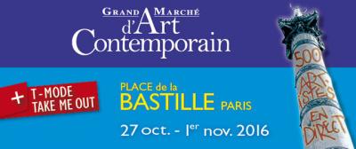 Grand Marché d'Art Contemporain 2016 à la Bastille
