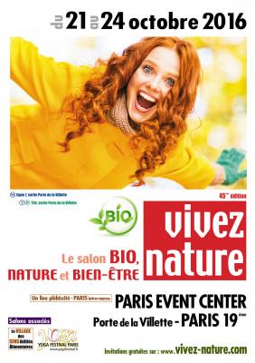 Le salon vivez nature paris 2016 la porte de versailles for Les salons porte de versailles 2016