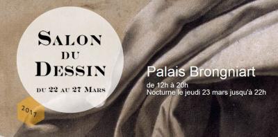 Salon du dessin 2017 au Palais de la Bourse