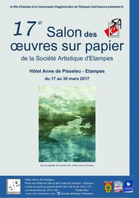 Salon des Œuvres sur Papier 2017 à Etampes