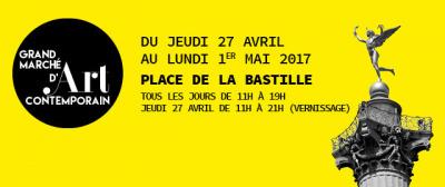 Grand Marché d'Art Contemporain 2017 à la Bastille