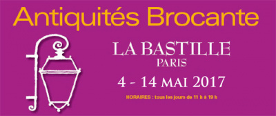 Le salon antiquit brocante 2017 la bastille for Salon de la mode paris 2017