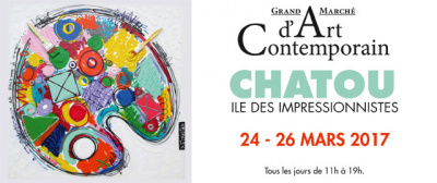 Grand Marché d'Art Contemporain de Chatou 2017