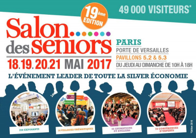 Le salon des s niors 2017 paris for Salon de paris 2017