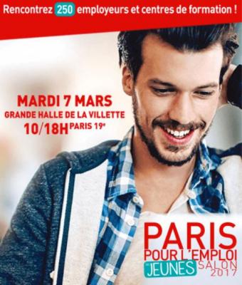 Paris pour l'emploi des jeunes 2017