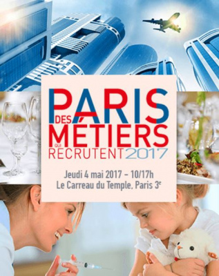 Forum Paris des métiers qui recrutent 2017 au Carreau du Temple