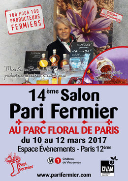 Salon pari fermier printemps 2017 au parc floral for Salon paris mars 2017