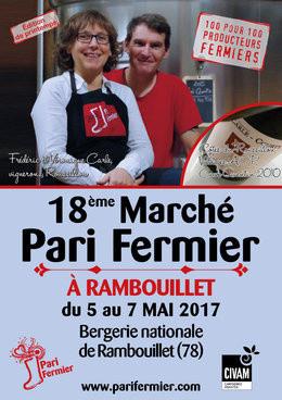 Pari Fermier de printemps 2017 à la Bergerie Nationale de Rambouillet