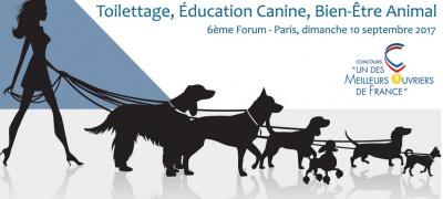 Forum du Toilettage, de l'Éducation Canine et du Bien-Être Animal 2017