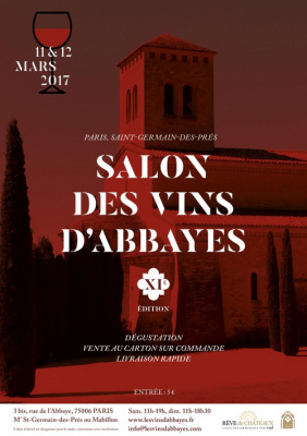 Le salon des vins d abbayes 2017 au palais abbatial de for Salon des vins paris