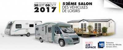 Salon des v hicules de loisirs 2017 for Salon de paris 2017