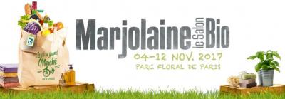 Salon Marjolaine 2017, le salon du Bio au Parc Floral
