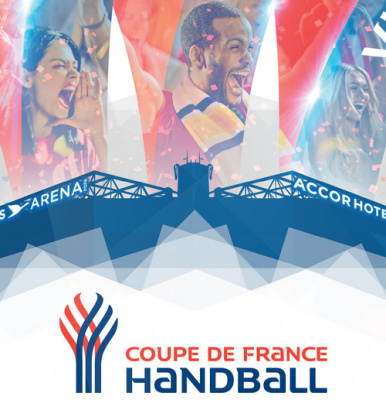 Finales Coupe de France de Handball 2017 à l'AccorHotels Arena