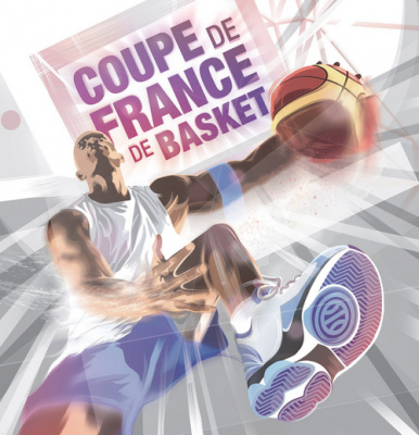 Finales de la Coupe de France de Basket 2017 à l'AccorHotels Arena