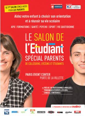 """Salon de l'Etudiant """"spécial Parents"""" 2017"""
