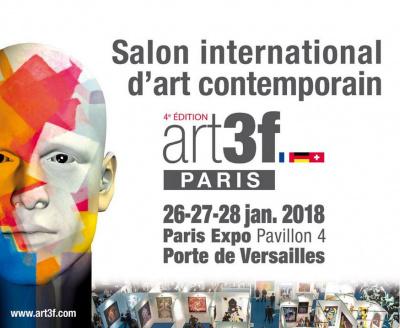 art3f Paris 2018, le salon international d'art contemporain