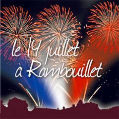 Feu d'artifice du 14 Juillet 2017 à Rambouillet