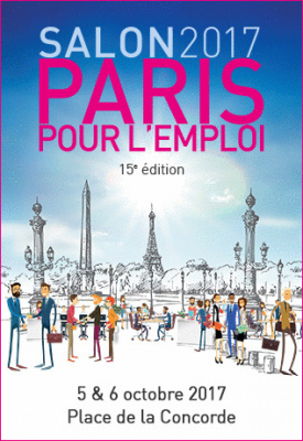 Paris pour l 39 emploi 2017 place de la concorde paris for Salon recrutement 2017