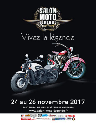 Salon moto l gende 2017 au parc floral for Salon e commerce paris 2017