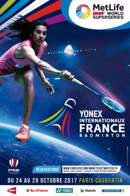 Yonex Internationaux de France de Badminton 2017 à Paris Coubertin