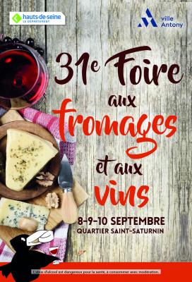 Foire aux Fromages et aux Vins d'Antony 2017