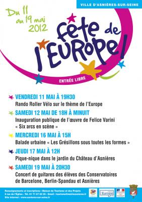 Asnières-sur-Seine célèbre l'Europe