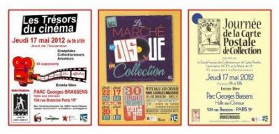 Journée des collectionneurs au Parc Brassens