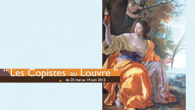 Les copistes du Louvre s'exposent