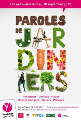 """Paroles de jardiniers"""" en Yvelines"""
